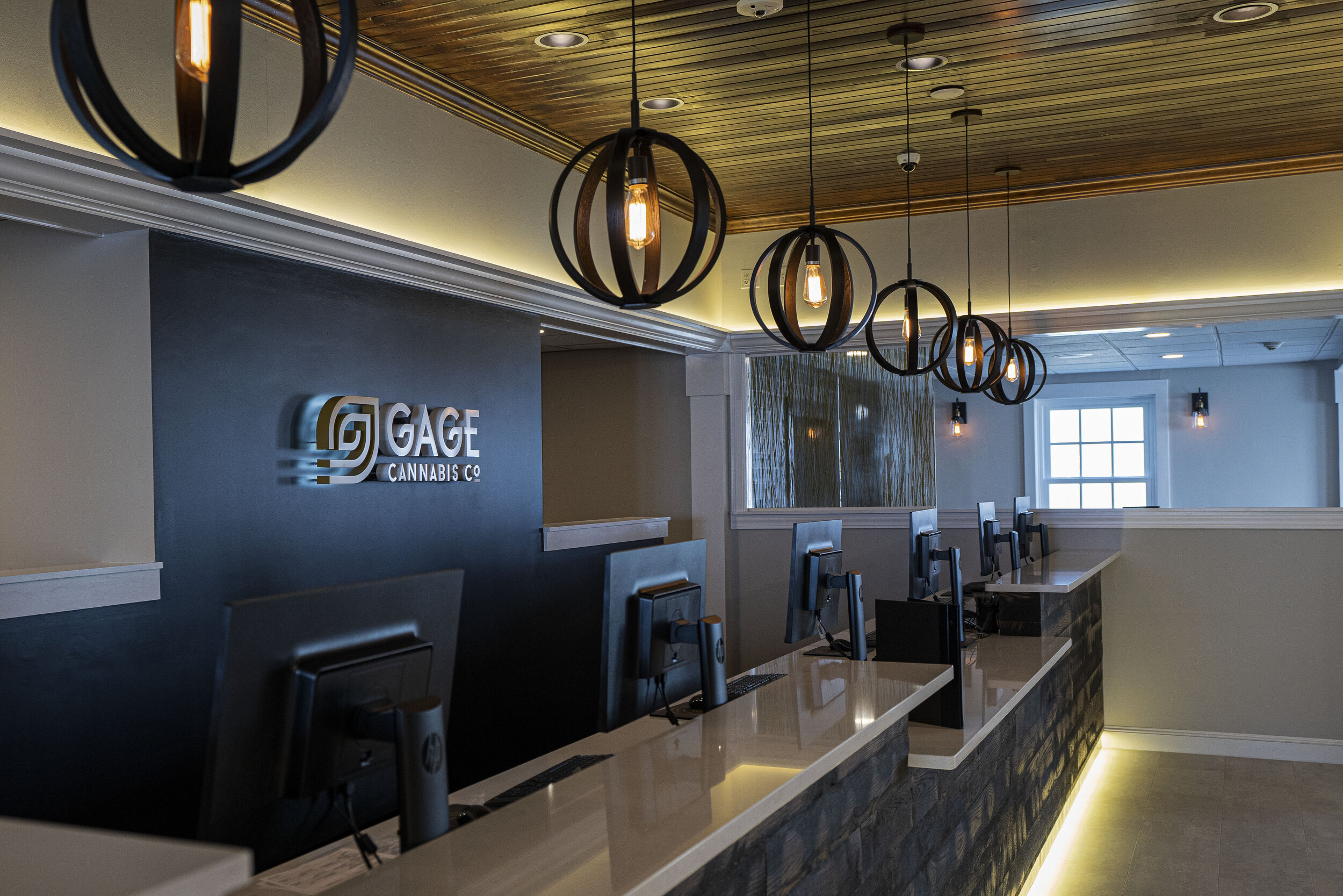 Gage Cannabis Co Interior POS Stations