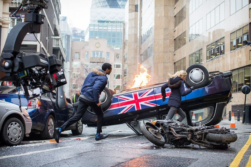 Favorite on-set moment: - We were blowing up a car in downtown Los Angeles for a Showtime promo. We only had one take to capture it all and so we had 6 cameras rolling. I had spent 3 months prepping for the shoot. When we finally called action and it was over in just a few minutes, I felt such a great sense of relief!