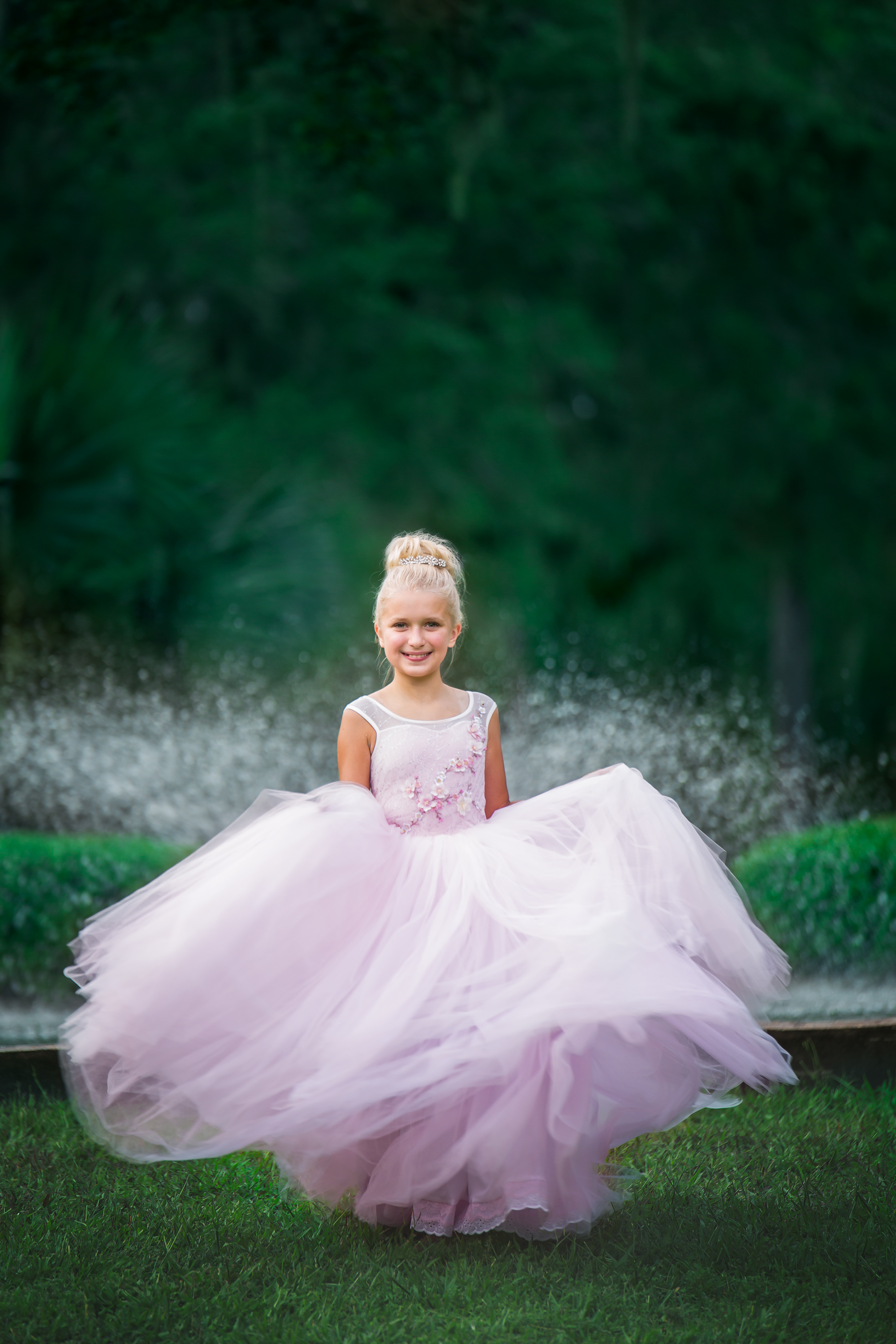 - Every Princess needs to twirl for her photo shoot.