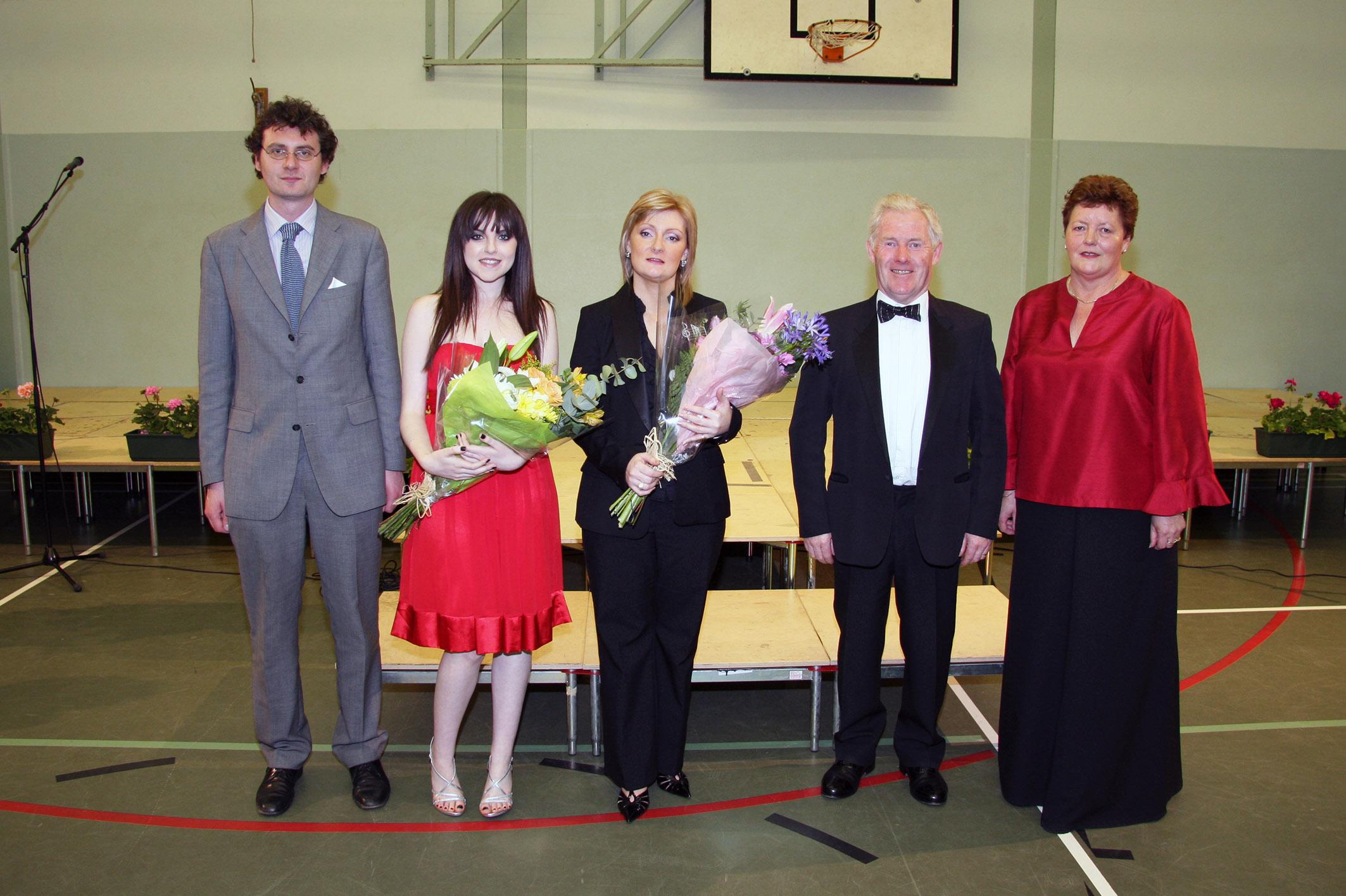 Mark McGrath, Niamh Perry, Sheelagh Greer, Ian Coalter and Barbara Lowry