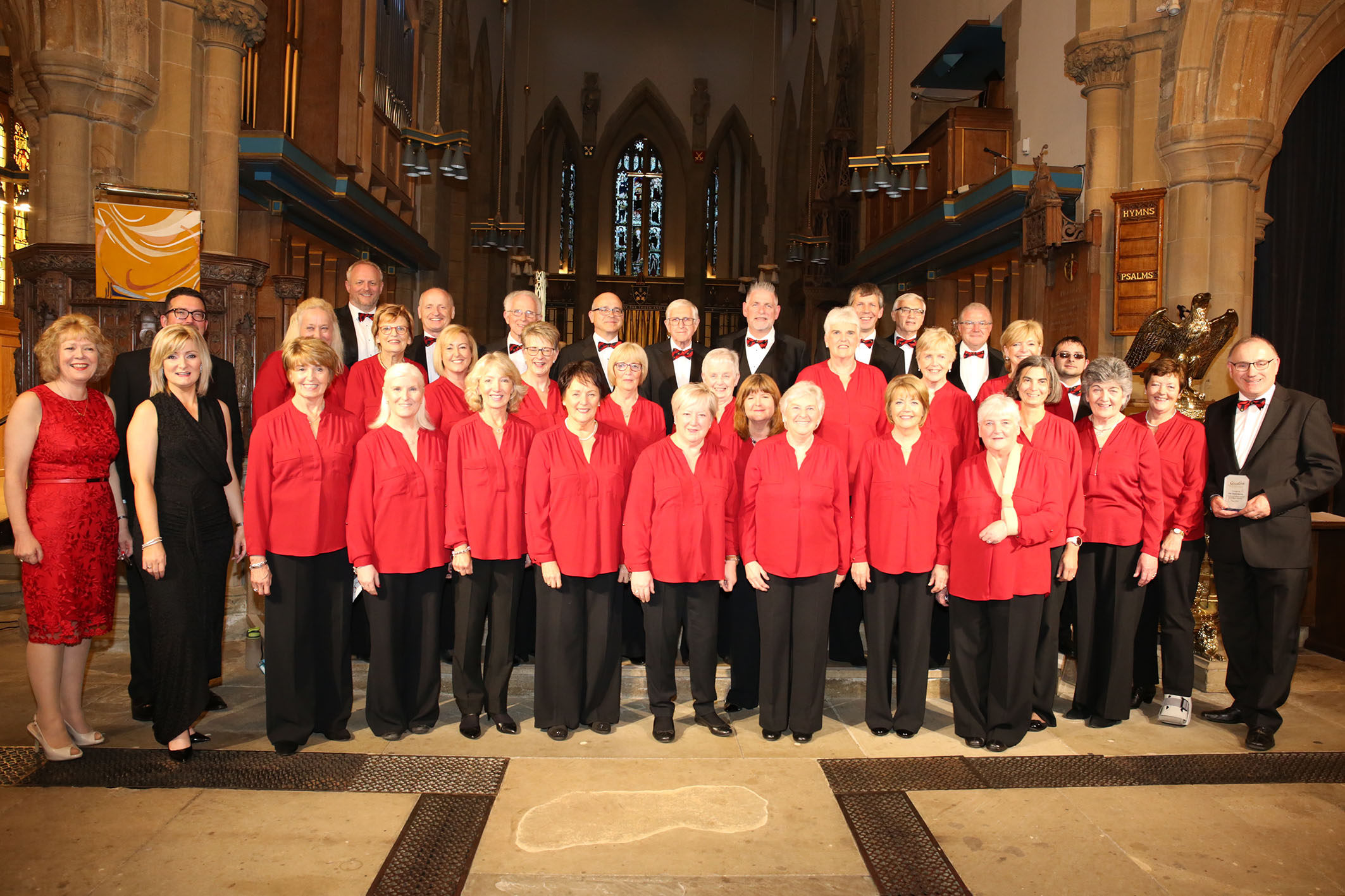 The Clare Chorale in Bradford Cathedral