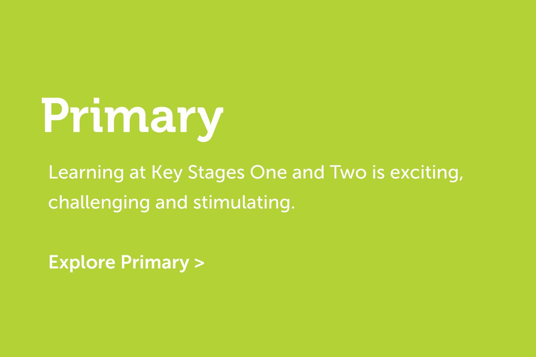 Primary Education Navigation