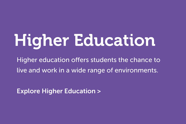 Higher Education Navigation
