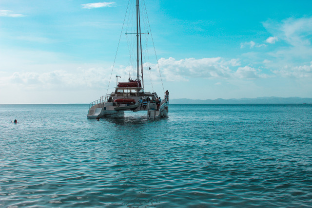 4. Voyage by sea! - Costa Rica is surround by vast amounts of gorgeous water! Take a catameran or a boat and explore!