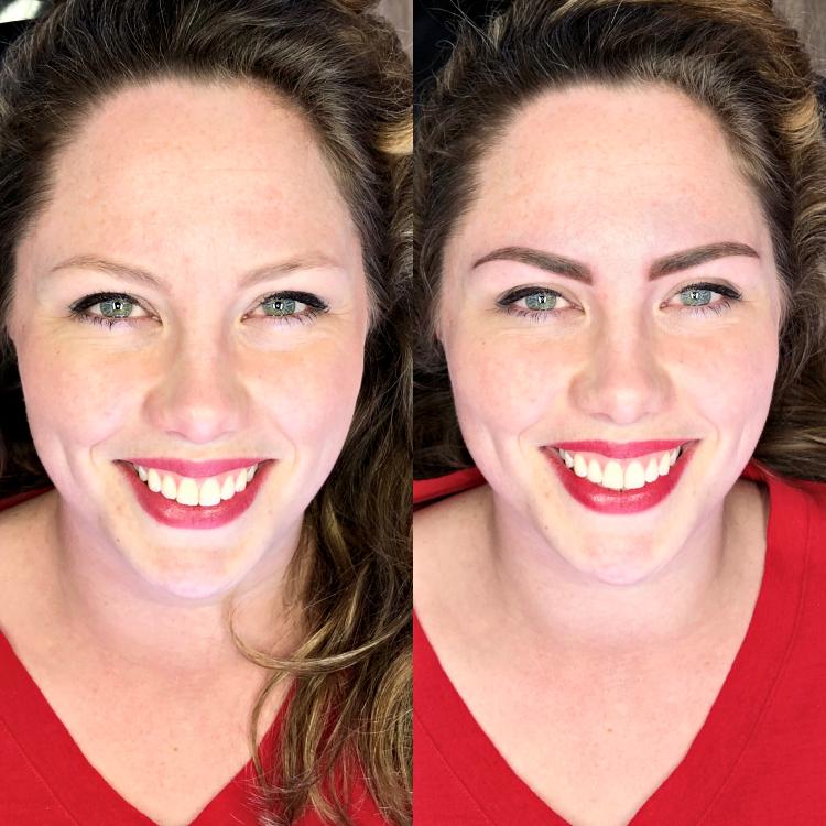 Permanente make-up l Powder Ombre brows.