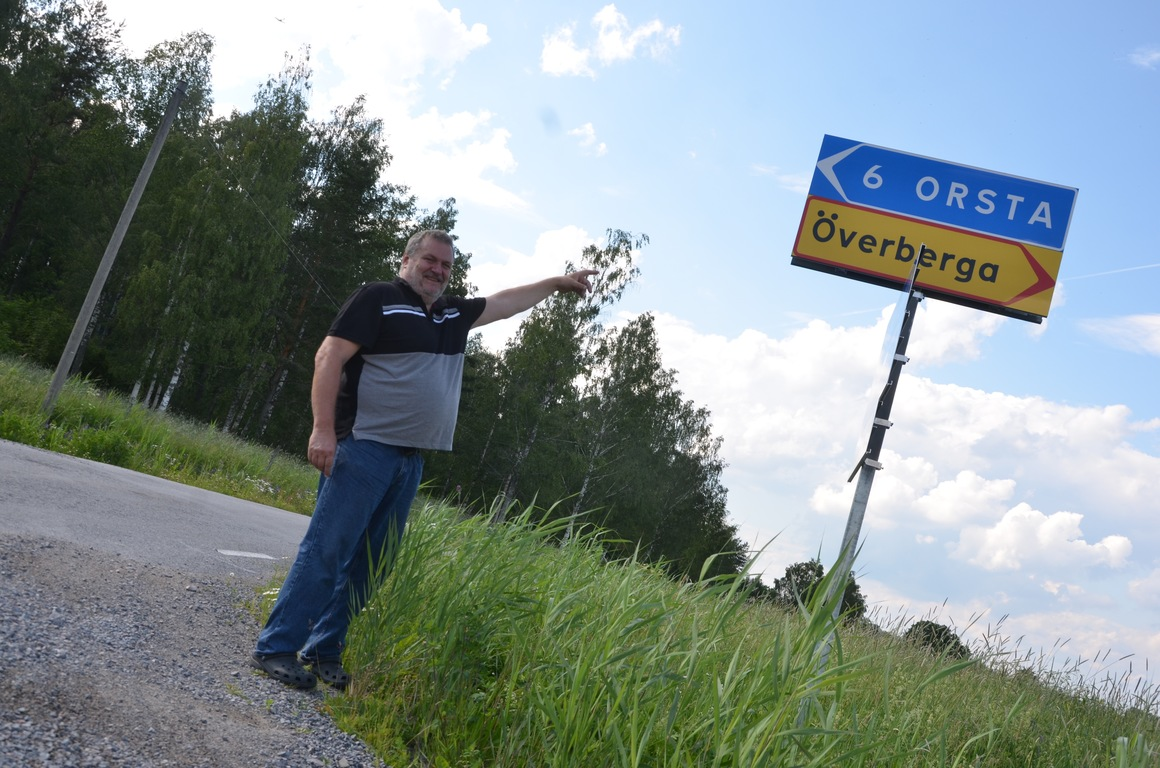 Banchef Per-Arne Broström i Kolsva Motorsällskap är glad över att klassiska sträckan Orsta-Överberg återigen är med i Rally-SM, under Kolsvarundan den 17 augusti. Foto: Annemo Friberg