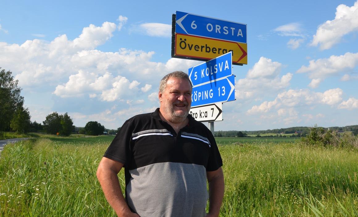 Fyra fartsträckor som körs två gånger, sammanlagt 126 km, är vad banchef Per-Arne Broström bjuder på i Kolsvarundan. Endast femton mil transport, vilket gör banan synnerligen kompakt. Foto: Annemo Friberg
