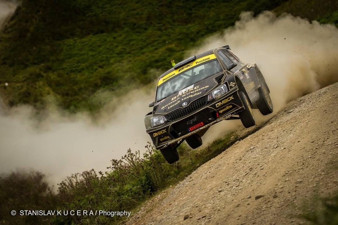Fredrik Åhlin gör då och då inhopp i Rally-SM och Kolsvarundan blir ett sådant. Senast han var med vann han South Swedish Rally. Foto: Stanislav Kucera