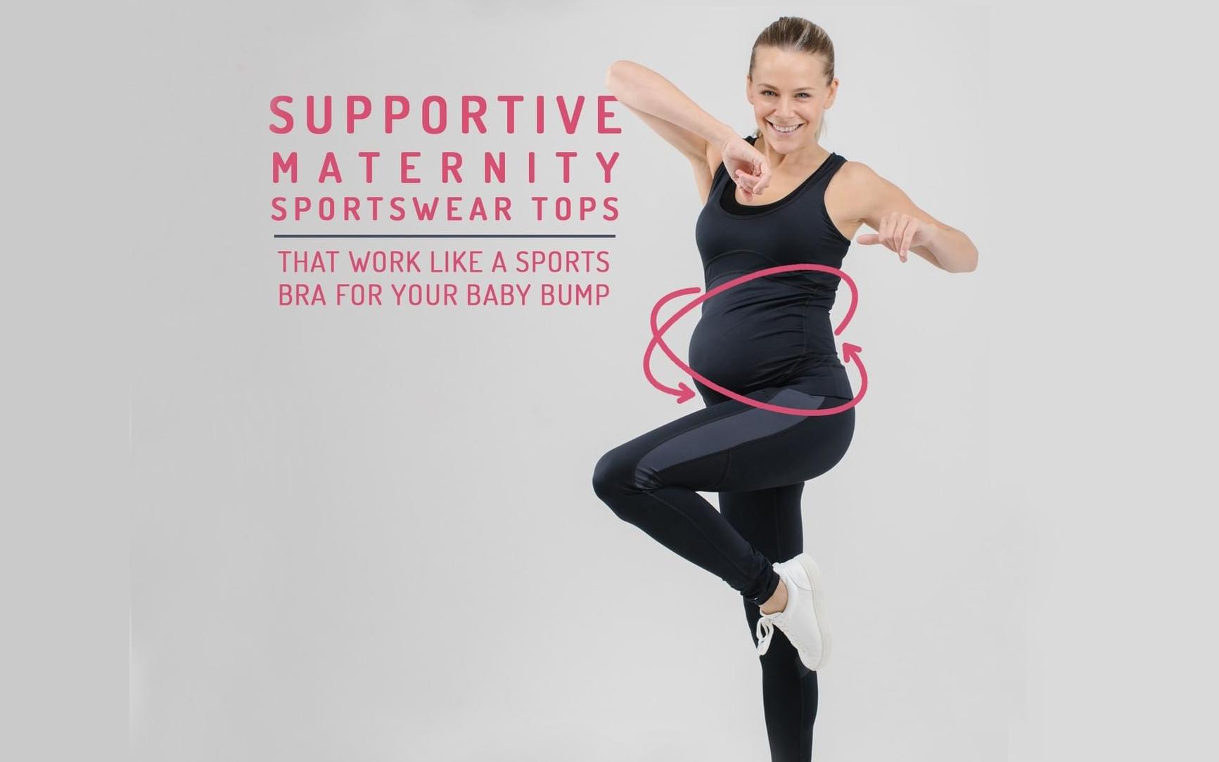..Maternity Sportswear Tops