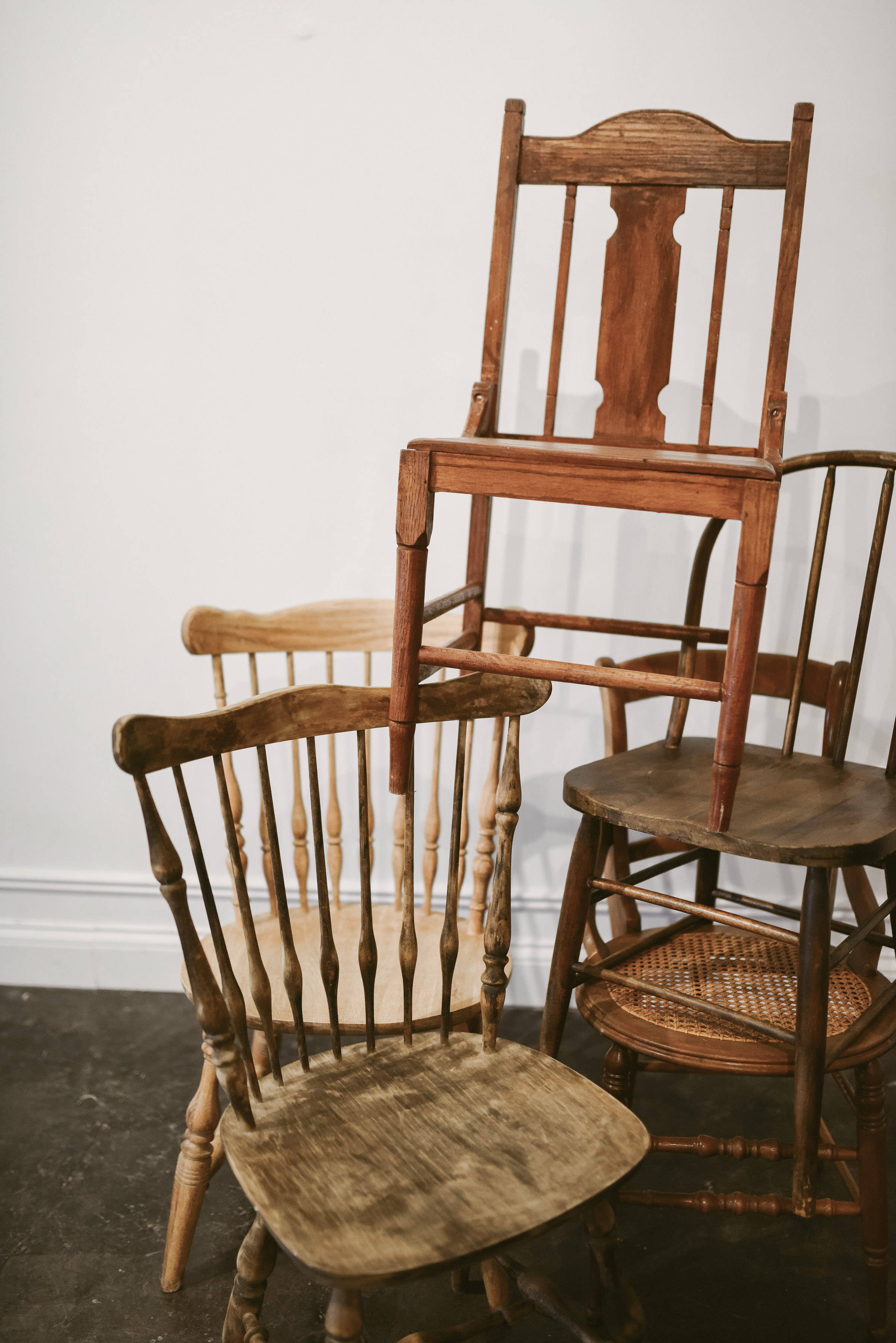 Mismatched Dining Chair Stack.jpg