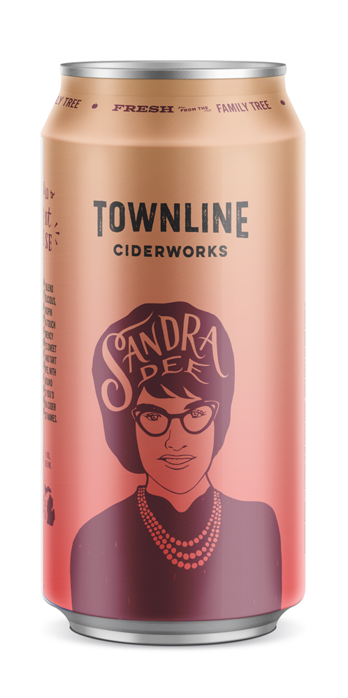 sandra dee - Introducing Sandra Dee. A friendly blend of Yellow Delicious, Ida Red, Crispin apples and a touch of vanilla and Montmorency cherries. She's sweet at the hello and tart on the goodbye, with the all-around loveliness you'd expect from a cider with two first names.6.8% alc. / vol.