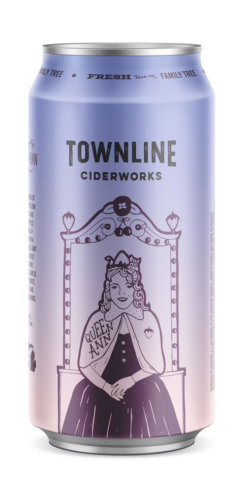 queen ann - Her majesty, Queen Ann. A regal blend of McIntosh, Yellow Delicious, and Ida Red apples majestically flavored with strawberries, tart cherries, sweet cherries and blueberries. She is proud but sweet, noble but kind. A perfect balance.2018 GLINTCAP AWARD: BRONZE - FRUIT CIDER6% alc. / vol.