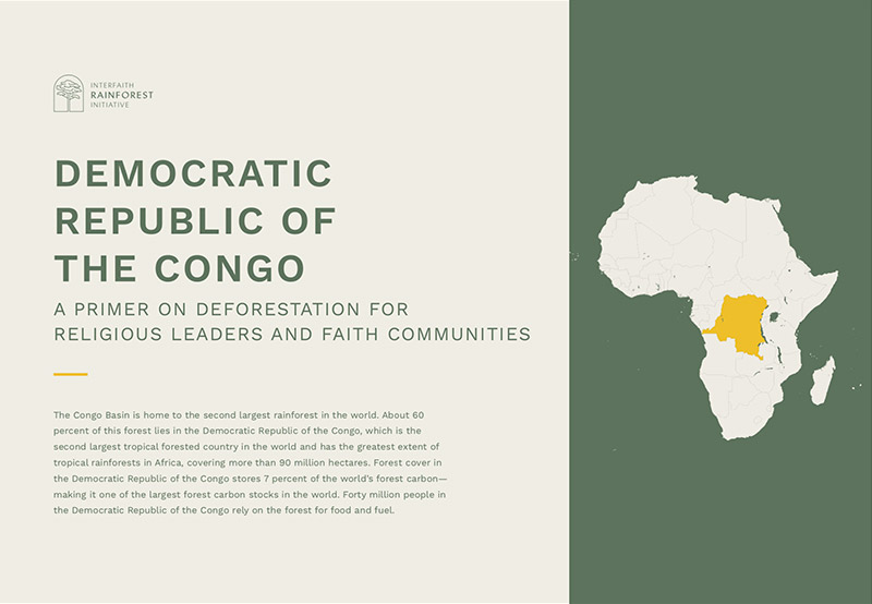 ENG | FRAN | ESP | PORT | IND  A fact sheet on the state of forests, the drivers of deforestation and the existing initiatives to protect forests in DRC.