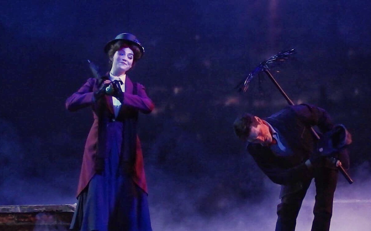 "Mary Poppins in ""The Dream Goes On"""