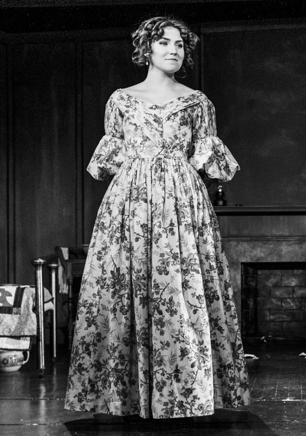"Elizabeth Cady in ""Possessing Harriet""   Photo by Russ Rowland"