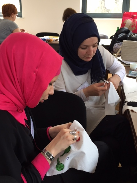 Fatima and Naida sewing.JPG