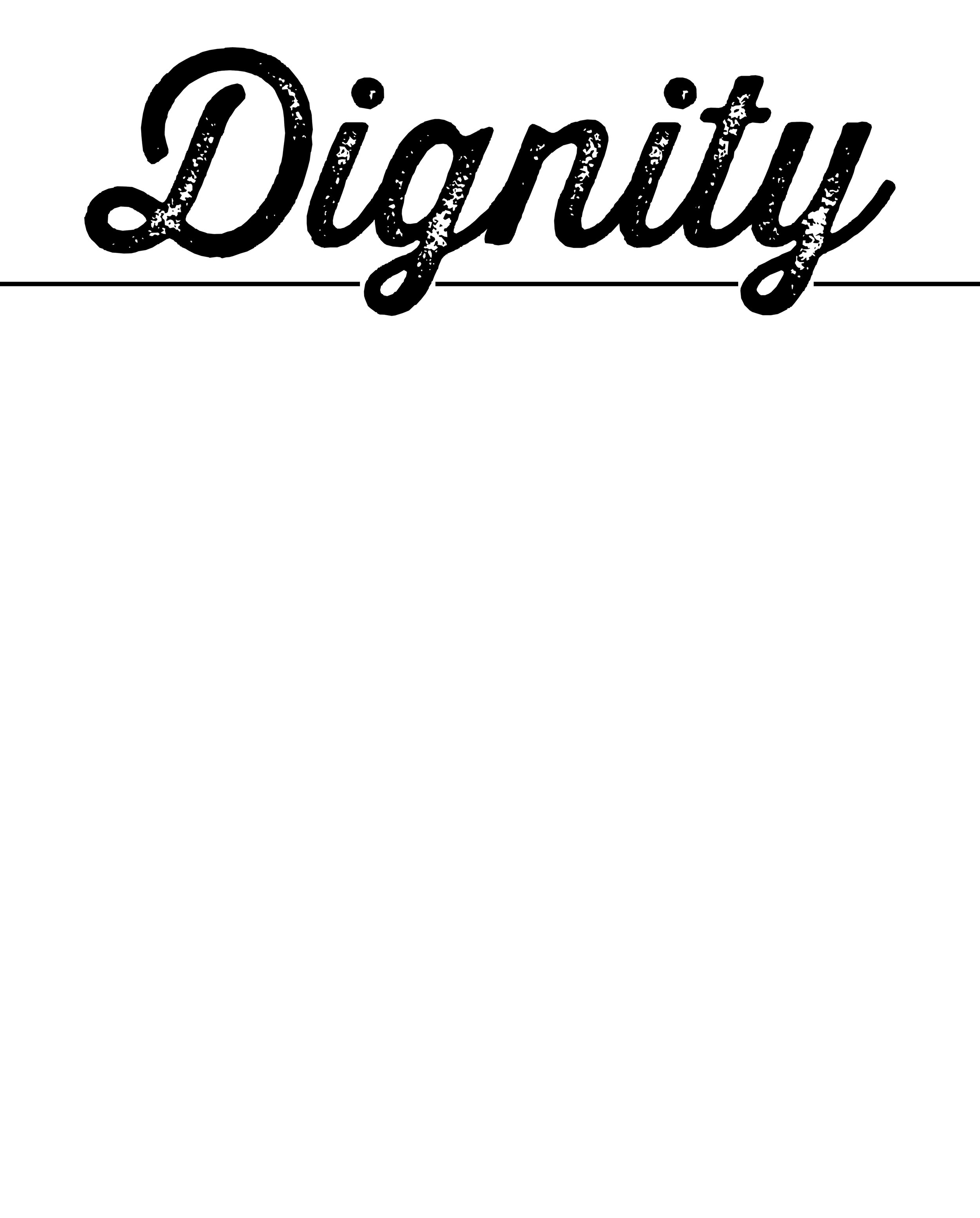 98. DIGNITY BlankPoster.jpg