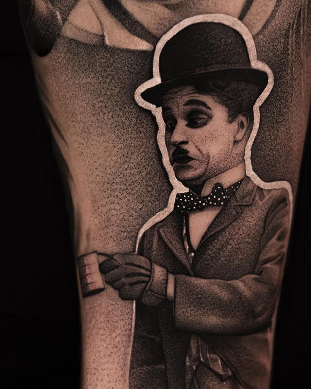 Little CHAPLIN done by @kzla_art using @empireinks here at ART LEGACY TATTOO / WYNWOOD—————————————————————————— ✖️All LIKES, SHARES AND COMMENTS ARE APPRECIATED✖️ Inquiries 📩 KZLA.ART@GMAIL.COM 📩  we'll be responding in the shortest posible time!! ∙ ∙ • • ∙ ∙ ∙ ∙ ∙ ∙  @hustlebutterdeluxe @skinart_mag @tattoo.colombia1 @tattoodo @tattoo.artists @tattoos_of_insta @inkspiretattoos @inkedmag @inkgeekstattoos @realistic.ink @blxckink @afterinked @saniderm @alpha.tattoos @skinart_mag @inkedmag @worldwideinkmag @bnginksociety @tattoo.colombia1 @inkedhearts_tattoo @goldenstatetattooexpo @the.best.tattoo.page @worldofpencils @d_world_of_ink @tattoo.artist artist @sullentv @tattoosocietymagazine @globaltattoomag @sullentv #dotstattoo #miamitattoo #blackngreytattoo #tattooart #wynwood #artdistrict #art #tattoo #besttattooartist #artlegacytatto #hustlebutterdeluxe #blackngreytattoo #dotworktattoo #dotwork #art #miamitattoo #wynwoodtattoo #artlegacytattoo #bishoprotary #inkeeze #cheyennetattooequipment #ogabel #goliathneedles #empireinks #empireinksproteam  #skinartusa #skinartmag #artlegacytattoo #sebaztiankzla #kzlaart #dontbeaftercareless