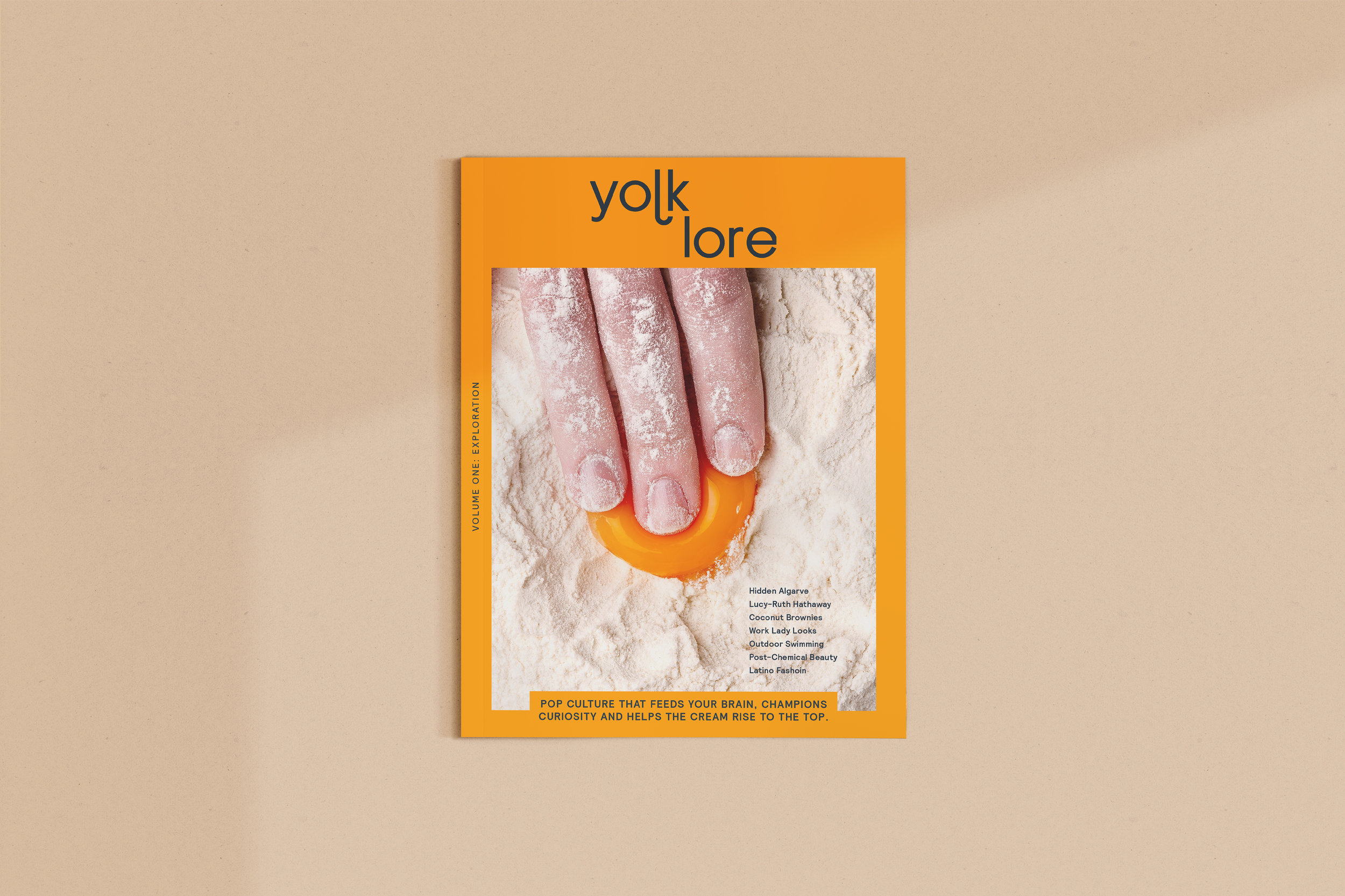 Yolklore Magazine - We are over the moon to be releasing our first print issue of Yolklore magazine. Designed to show you stuff you don't normally come across, by brands and people you've not yet heard of. Our mission is to help the cream rise to the top, championing brilliance, curiosity and eye-opening physical experiences, not keywords. Pre-order issue 1 before 15th May, £8 here. For the online magazine, head here.