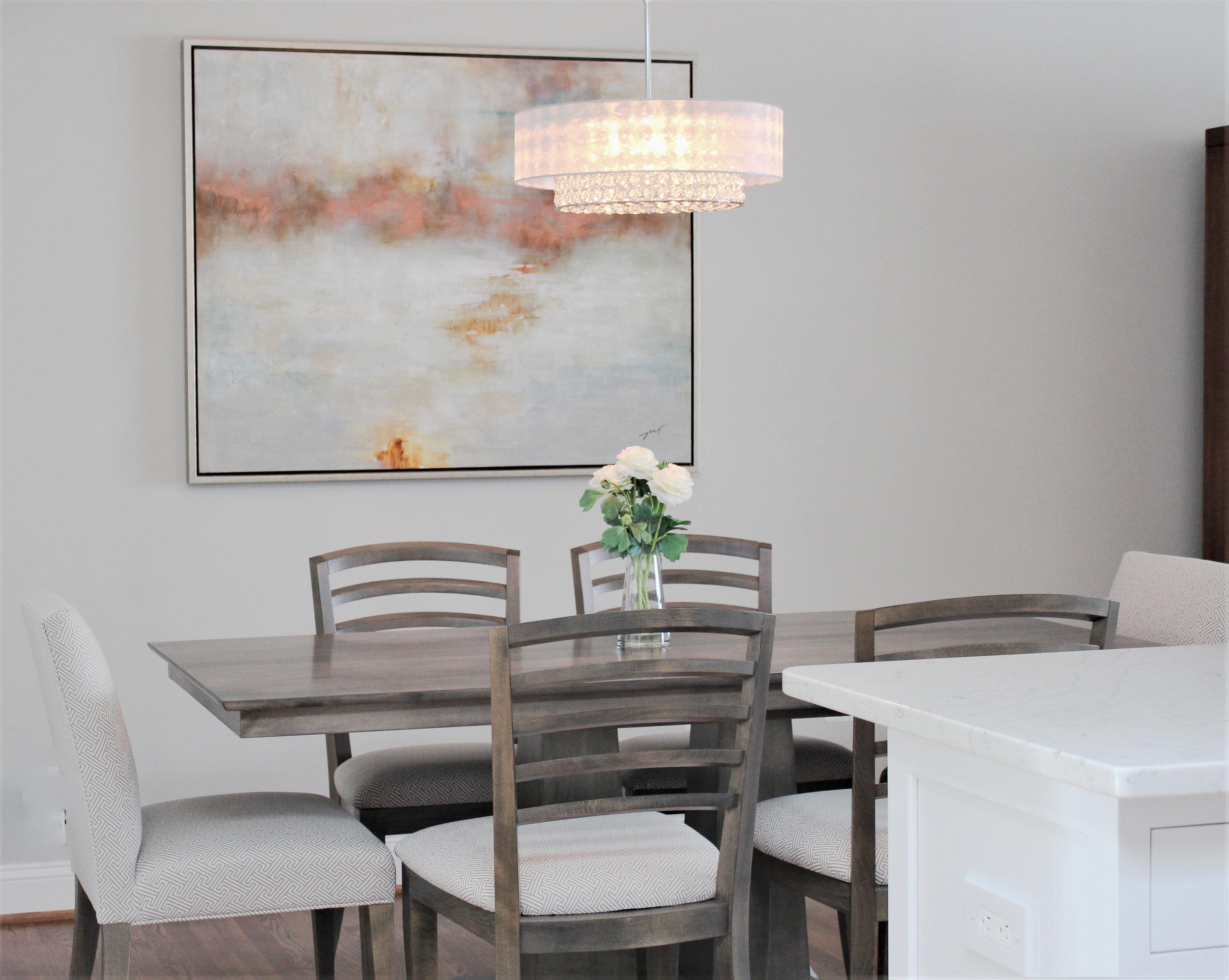 Dining Room interior design portfolio