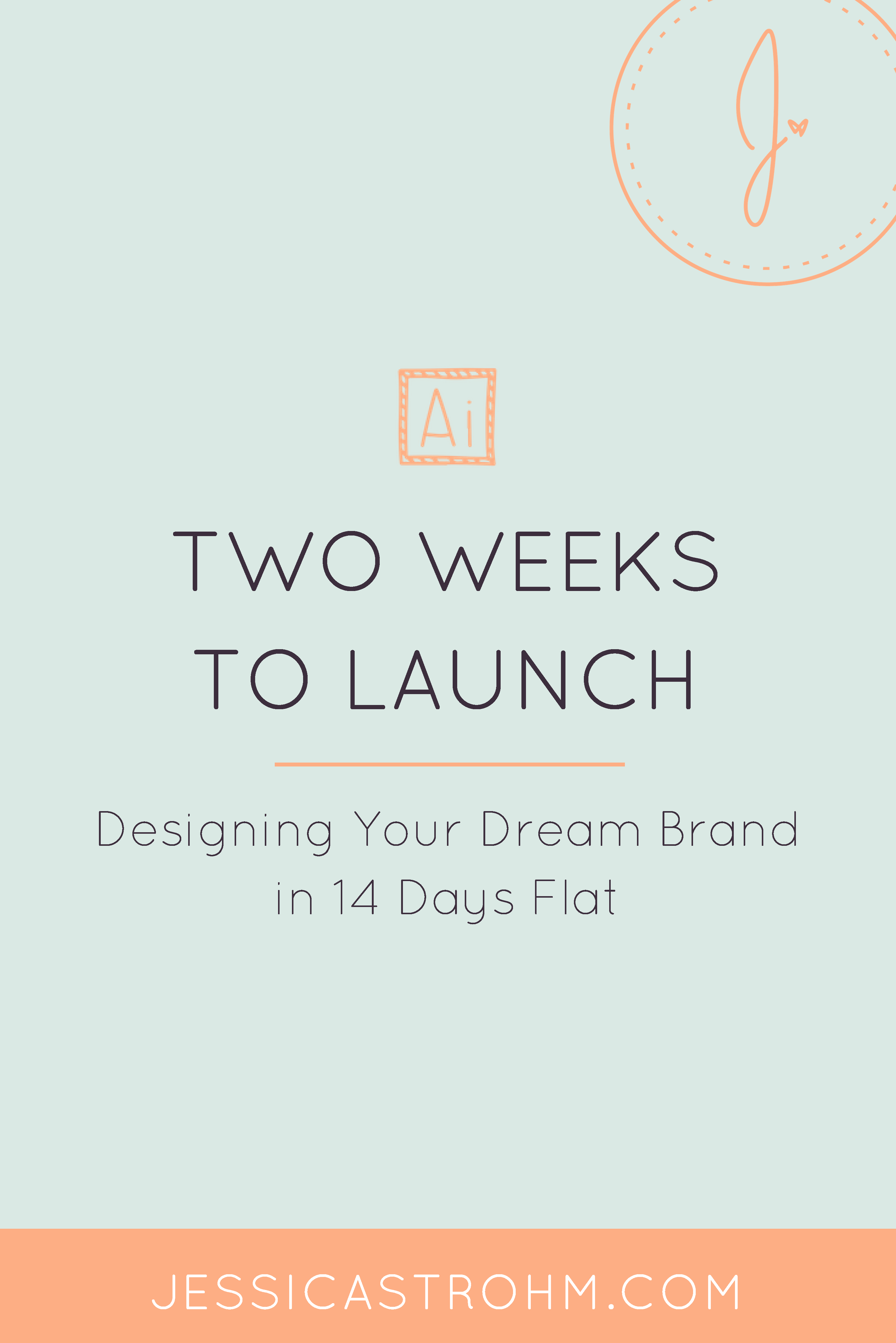 How you can work with a designer to create your dream brand and website in 14 days.