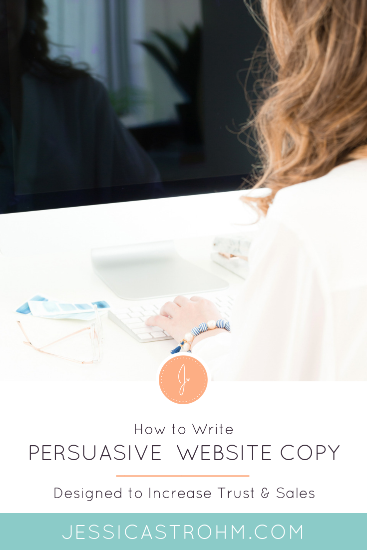 How to write persuasive website copy that converts