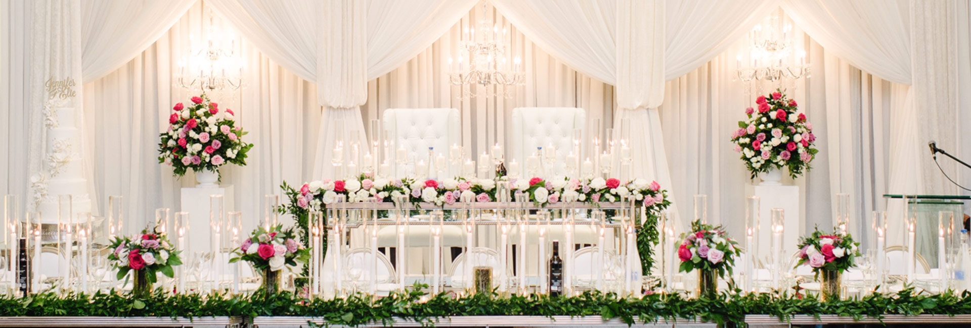 Shop Head Table Decor Packages