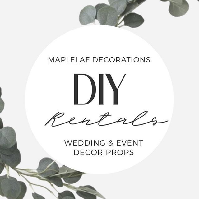 DIY WEDDING RENTALS 🌿  Swipe right for some pretty and simple #weddingdecor ideas and rentals props for your next event!  Check link in bio to rent 🛍 the DIY collection.  We deliver through the GTA & vicinity!  #mapleleafdecorations #caroandcoevents #torontoweddingplanning #weddingplanning #weddings #igweddings #torontowedding #torontobride #torontoweddingplanning #shopthelook #rentthelook #weddingideas #weddingdesign #weddingdecor #weddingdetails #weddingflowers #weddingstyle #weddinggoals #weddingdecoration  #weddinginspo #eventdesign #rusticweddings #rusticluxe #rusticdecor
