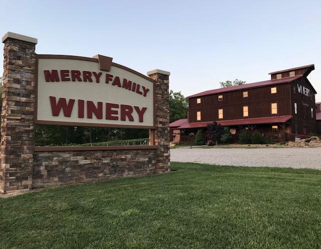 - 2376 St. Rt. 850Bidwell, OH 45614Click for Map740-245-WINEmerryfamilywinery.comAppalachian Wine TrailGalia County