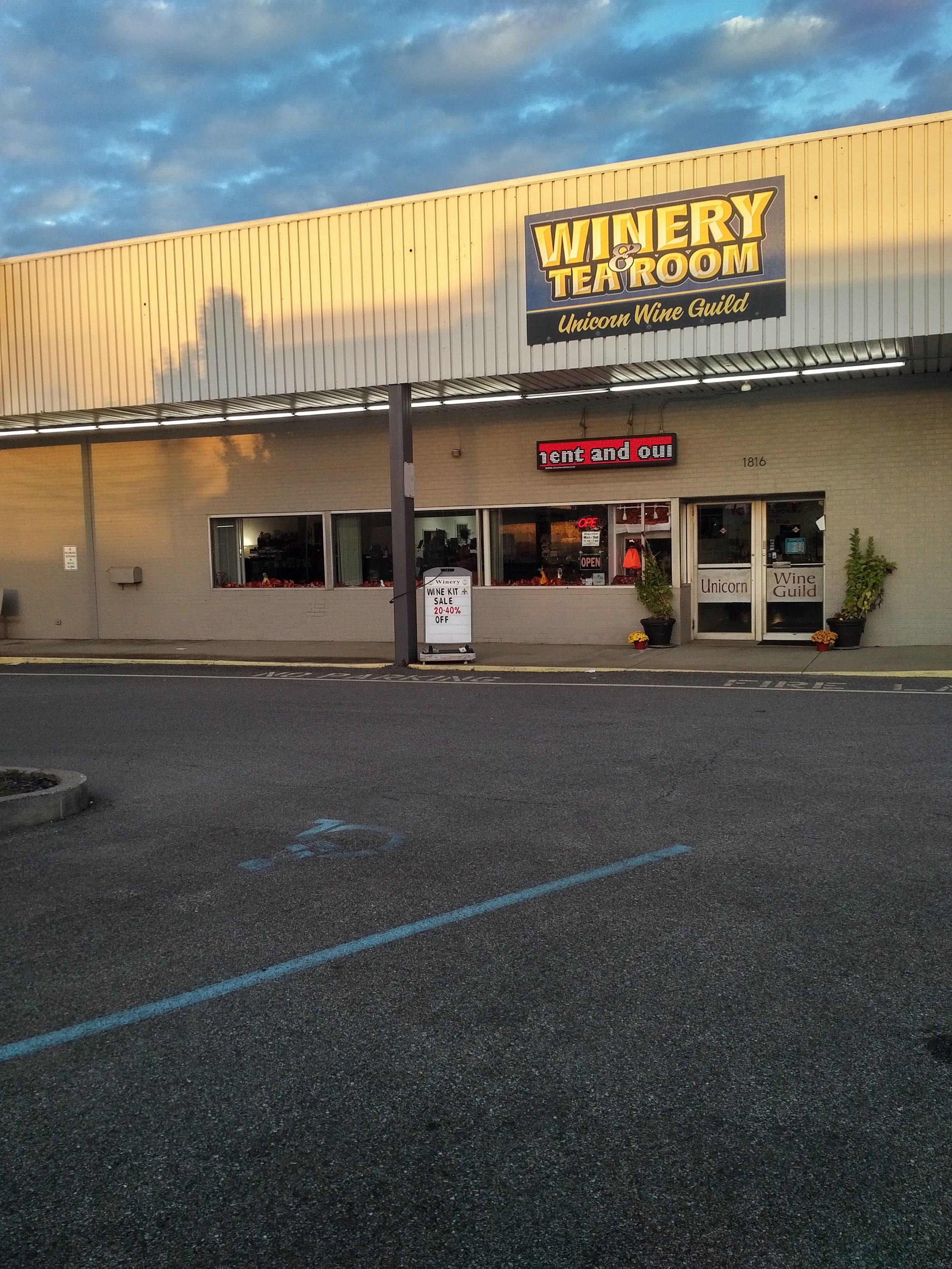 - 1816 Washington Blvd., Belpre, OH 45714Click for Map740-423-1300unicornwineguild.comAppalachian Wine TrailTuscarawas County