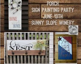 sunny slope porch sign painting party.JPG