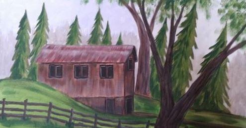 barn in the pines paint class buckeye.JPG