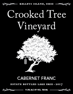 - 715 E Lakeshore Dr Kelleys, Ohio 43438Click for Map419-746-2200CrookedTreeVineyard.comLake Erie Shores & Islands Wine TrailErie County