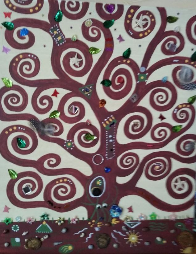 buckeye family tree painting night.JPG