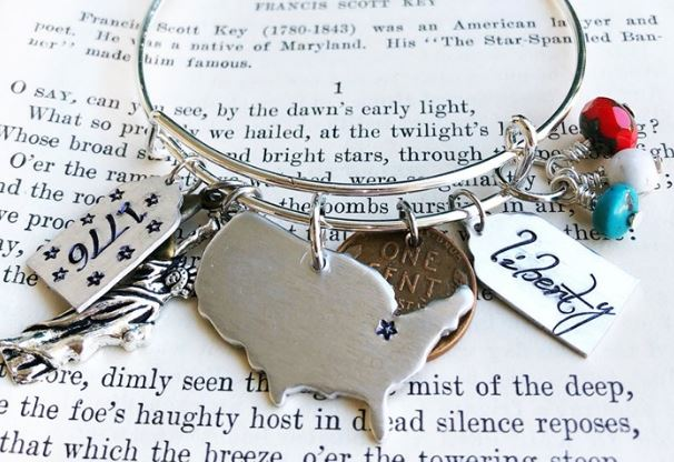 star spangled charm bracelet.JPG
