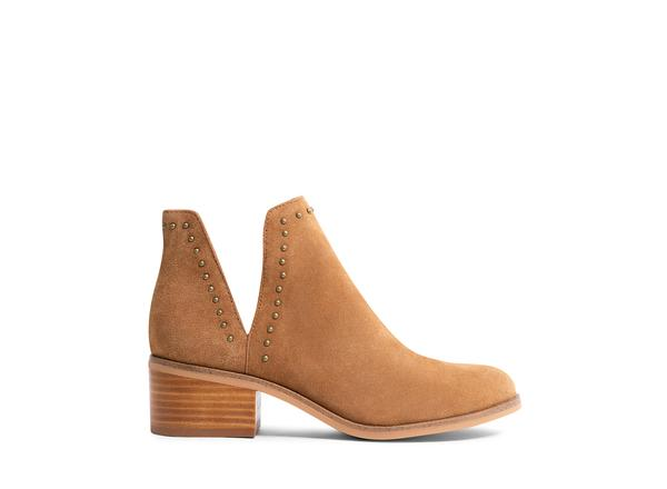 Lornaa Tan Suede Ankle Boot - Steve Madden