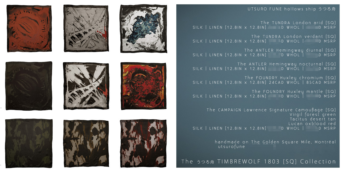 SATURDAY NIGHT SPECIAL 3 UTSURO FUNE hollow ship TIMBREWOLF 1803 SQ Collection simLINESHEET.jpg