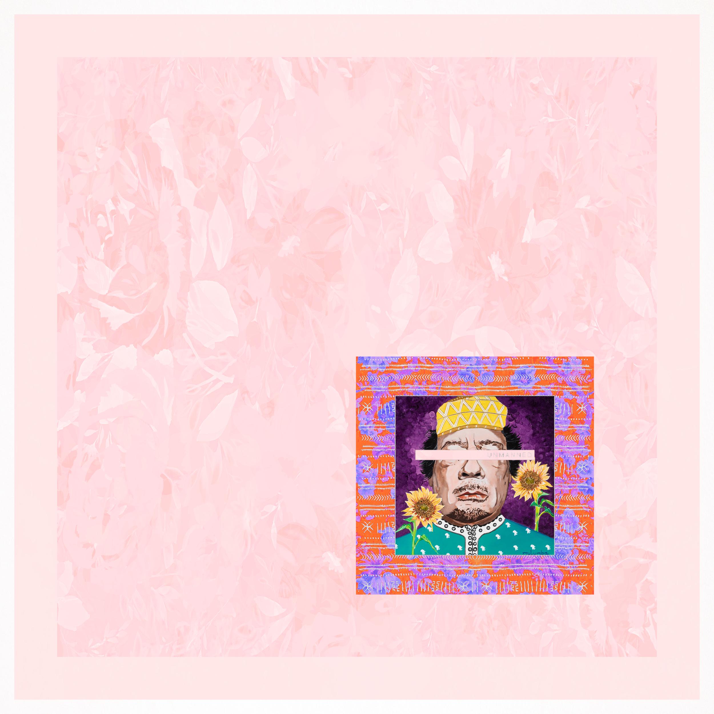 MULUMBA The Dictator's Garden Pink Dict Mo Gaddafi LT JOE NEGRO FB PROFILE.png