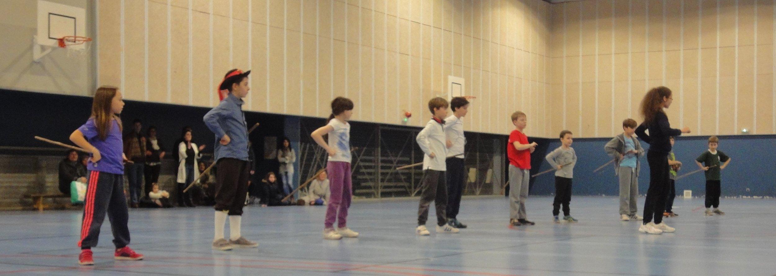 enfants - Stage à Neuilly - Février 2016