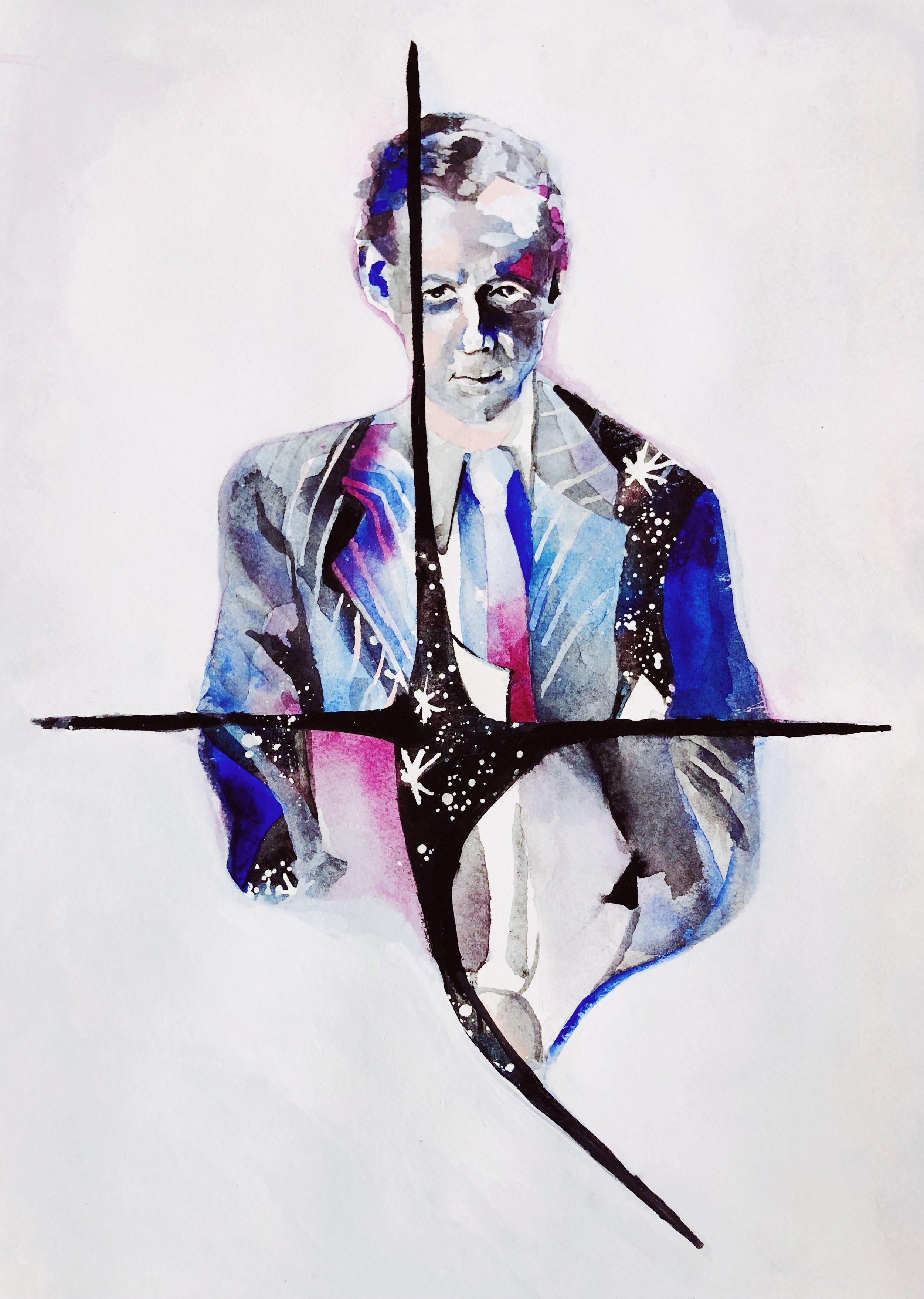 Benjamin Britten, imagined by Alex Sopp
