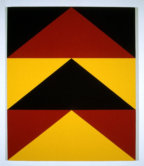 Untitled #7 , 1982 acrylic on canvas 40 x 48 inches
