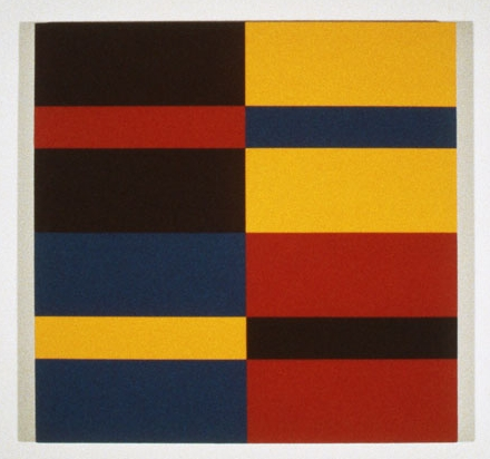 Untitled #4 , 1982 acrylic on canvas 35 x 35 inches