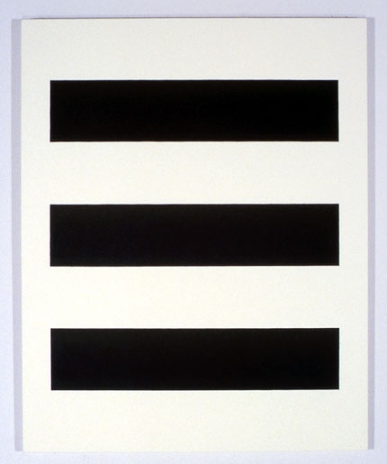 Untitled #22 , 1985 acrylic on canvas 36 x 45 inches
