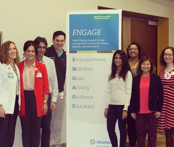 Residents and faculty present  ENGAGE , a community diabetes program.