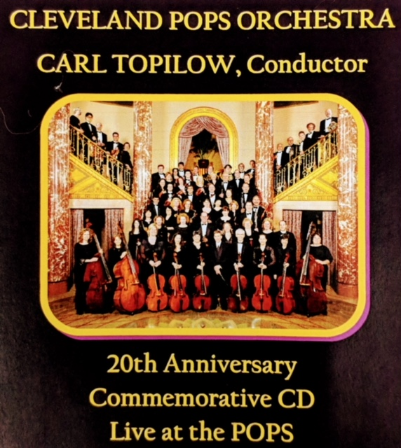 20th Anniversary Commemorative CD: Live at the Pops   - The Cleveland Pops Orchestra
