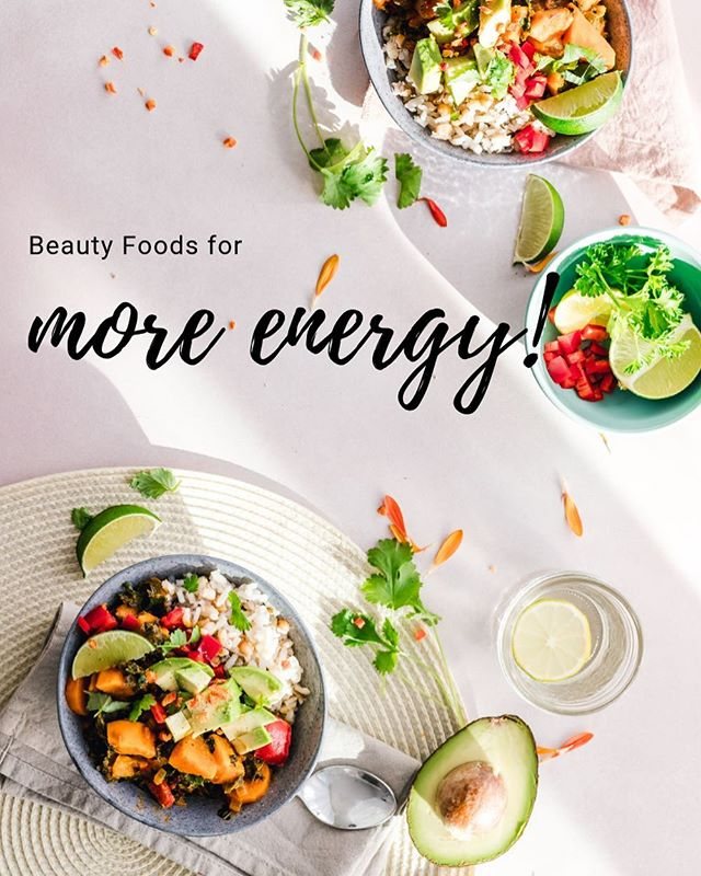 🤸🏻‍♀️BEAUTY FOODS FOR MORE ENERGY🤸🏻‍♀️ Boundless natural energy doesn't have to be elusive (yah, we know it feels that way sometimes...)😴 So,  To help you re-discover your natural energy, we've listed 6 tips to feel alert, energized and clear minded the Beauty Nutrition way.  Head to the blog now and check it out! {link in bio - Beauty News}