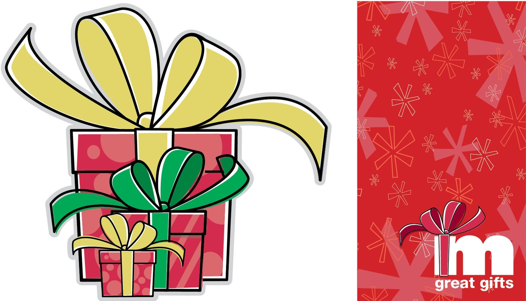 MERVYNS HOLIDAY CONCEPT - Design and illustrate gift box concept for holiday in-store campaign.Responsible for concept, design and illustrations.
