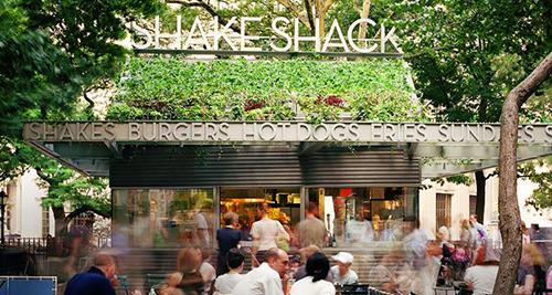 madison square park shake shack new york city