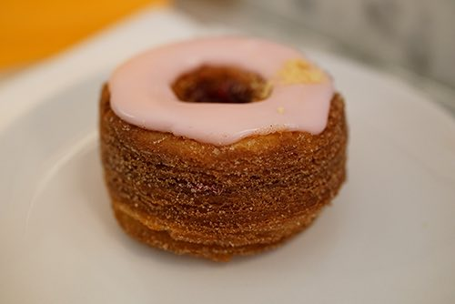 CRONUTS AND COUTURE IN SOHO -