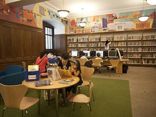 new york public library childrens center